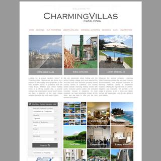 ArchiveBay.com - charmingvillas.net - Luxury Holiday Villas in Catalonia, Costa Brava & Barcelona