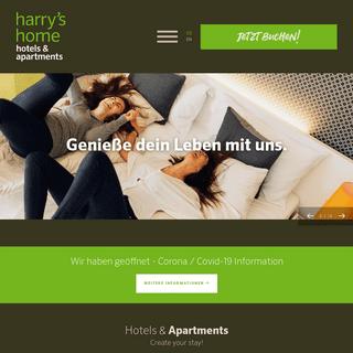 Design Hotels in Graz, Linz, Dornbirn, Wien und München - harry's home