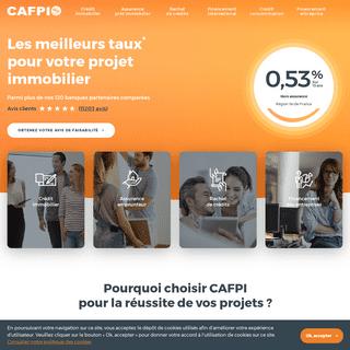 CAFPI - courtier en prêt immobilier et rachat de crédit