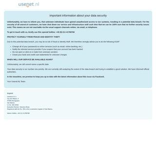 Usenet.nl - finest Usenet access