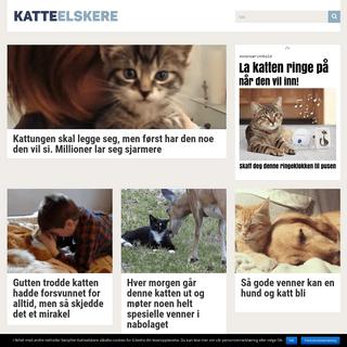 • En nettside om katter