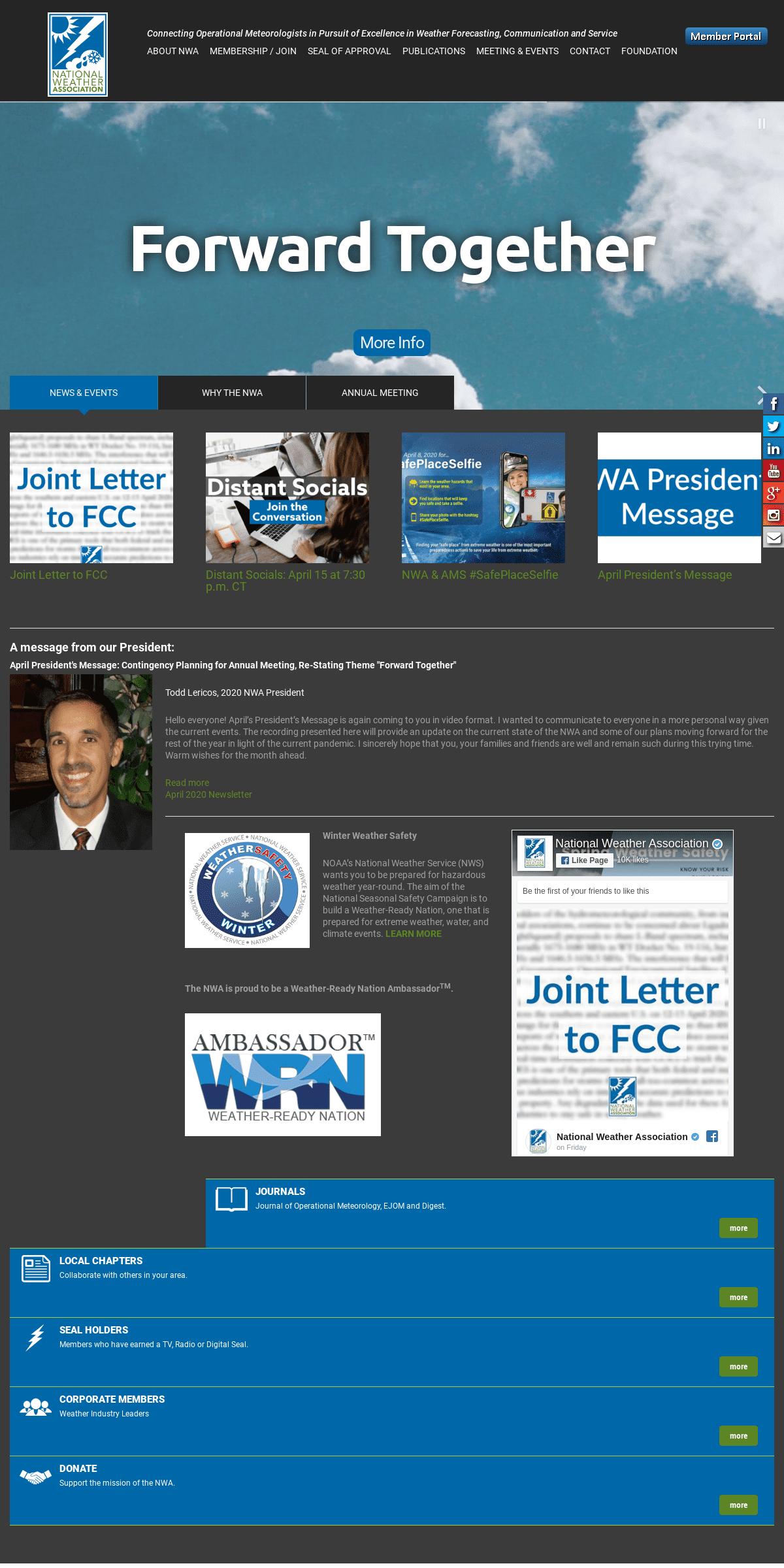 National Weather Association -