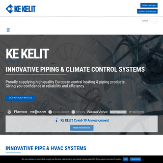 Piping, Central Heating Systems HVAC & Plumbing Supplies - KE KELIT