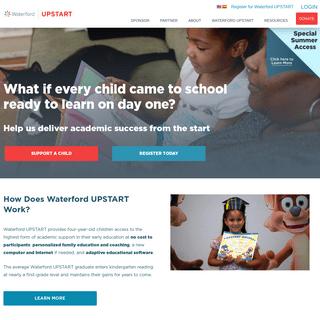 Waterford UPSTART - Kindergarten Readiness