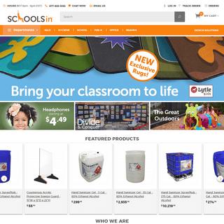 SCHOOLSin - School Furniture, Equipment & More