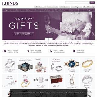 High Street Jewellers, Jewellery Shop - F.Hinds Jewellers