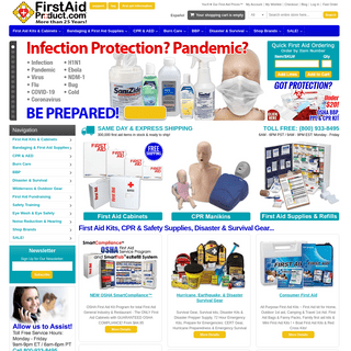 First-Aid-Product.com- First Aid Kits - America's Favorite First Aid™ First Aid & First Aid Supplies Wholesale Direct to the P