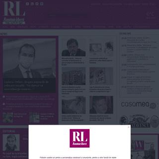 Romania libera - stiri iesite din tipar - actualitate, investigatii, politica, cultura