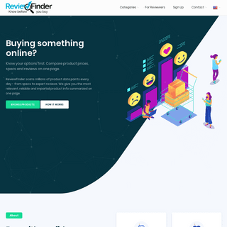 Review Finder - Compare Customer Reviews and Prices Real-Time