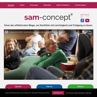 sam-concept® – Schönes hat Vorrang