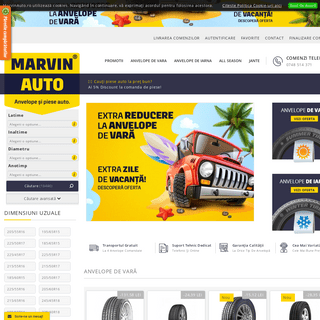 Marvin Auto® - Anvelope de vara la oferta - Anvelope de iarna la oferta - V&M International Shop SRL
