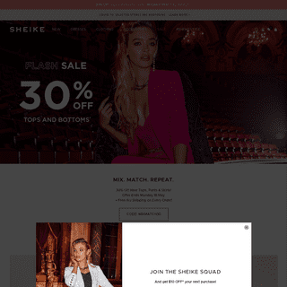 SHEIKE - Shop Online - Dresses, Jumpsuits & Playsuits