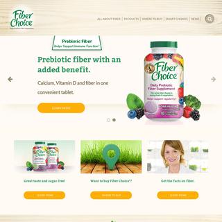 Fiber Choice® Prebiotic Fiber Supplements