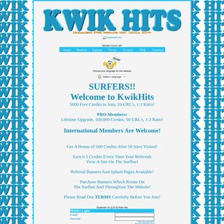 Kwik Hits