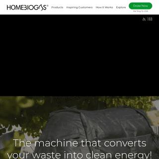 Homebiogas - Household Biogas Digester System