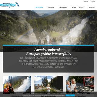 Besuchen - Krimmler Wasserfälle