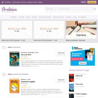 Knjige in avtorji - Bralnica