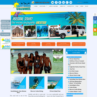 Welcome to Safe Tours Cozumel