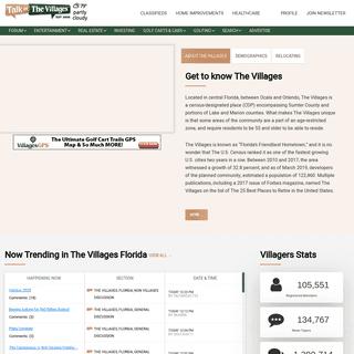 ArchiveBay.com - talkofthevillages.com - The Villages, Florida - 55+ Active Adult Retirement Community Website