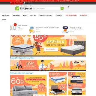 Beds & Mattresses Online - Beds Shop Sydney - Bedworks
