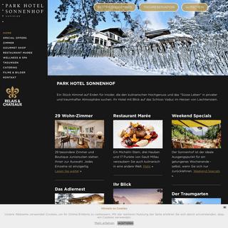 Hotel Vaduz, Liechtenstein -- Relais & Chateaux Hotel Vaduz in Vaduz, Liechtenstein, Ost-Schweiz und Grenze Vorarlberg + Park Ho