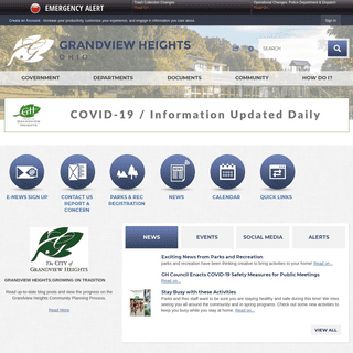 City of Grandview Heights OH - Official Website - Official Website