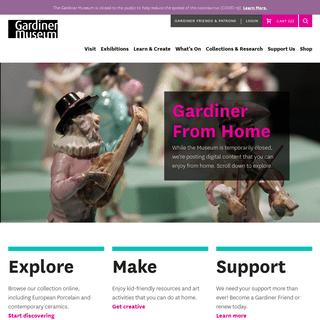 ArchiveBay.com - gardinermuseum.on.ca - Gardiner Museum