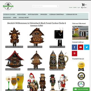Cuckoo Clocks – German Gift & Black Forest Cuckoo Clock Shop