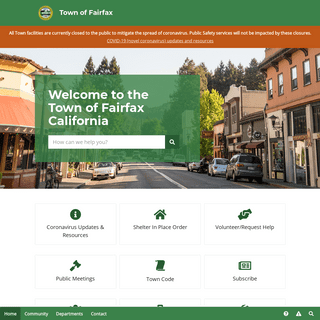 ArchiveBay.com - town-of-fairfax.org - Welcome to the Town of Fairfax, Ca. - Town of Fairfax