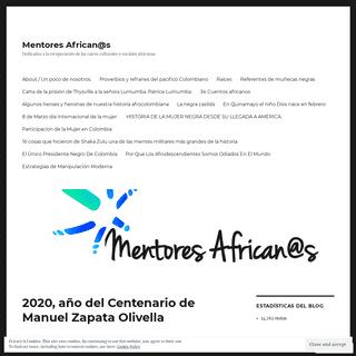 Mentores African@s – Dedicados a la recuperación de las raíces culturales y sociales africanas