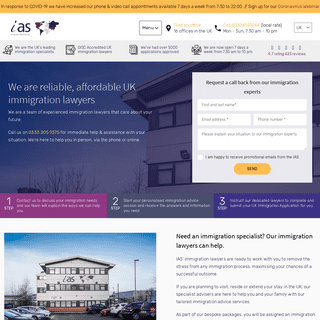 UK Immigration Lawyers – Immigration Advice Solicitors – IAS