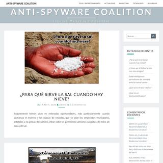 Anti-Spyware Coalition - internet, marketing y actualidad