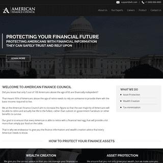 American Finance Council
