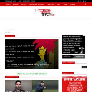 ArchiveBay.com - arseblog.news - Arseblog News - Arseblog News - the Arsenal news site