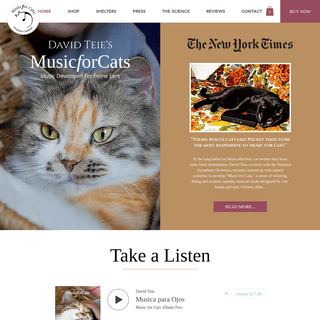 Home - Music for Cats - David Teie