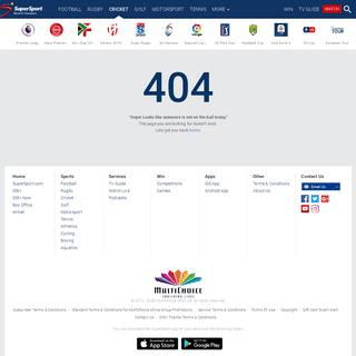 A complete backup of supersport.com/cricket/south-africa-v-england-201920/news/200209_LIVE_South_Africa_v_England_3rd_ODI