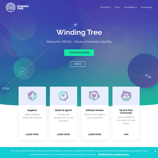 Winding Tree - open source distribution ecosystem of hotel and airline inventory