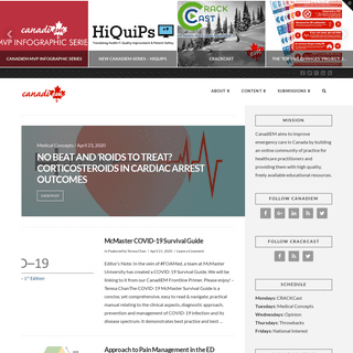 CanadiEM - An online community of practice for Canadian EM physicians