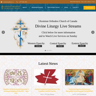 Home - Ukrainian Orthodox Church of Canada (UOCC)