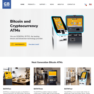 GENERAL BYTES - Bitcoin and Cryptocurrency ATMs