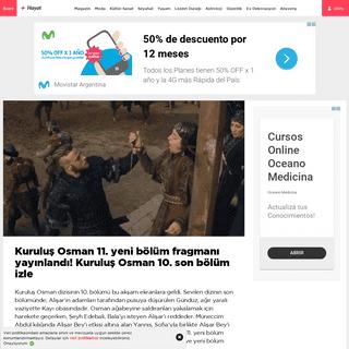 Kuruluş Osman 11. yeni bölüm fragmanı yayınlandı! Kuruluş Osman 10. son bölüm izle - Magazin haberleri