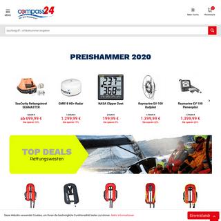 Bootszubehör, Segelbedarf & Yachtzubehör Online Shop - Compass24