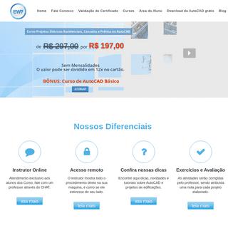 EW7 – Curso Online de AutoCAD e Projetos de Edificações
