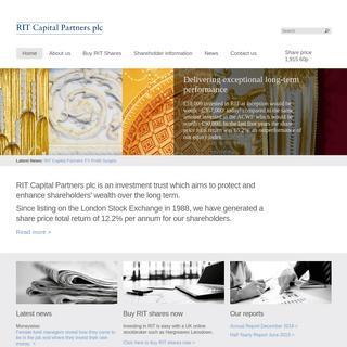 RIT Capital Partners plc -