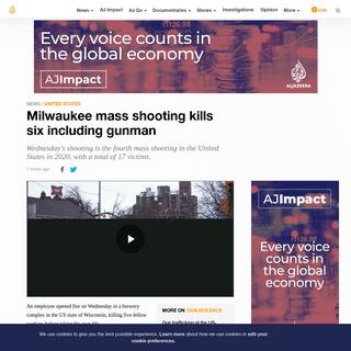 ArchiveBay.com - www.aljazeera.com/news/2020/02/multiple-people-reportedly-killed-wisconsin-shooting-200226221303241.html - Milwaukee mass shooting kills six including gunman - USA News - Al Jazeera