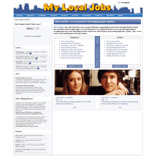 MyLocalJobs - Getting young people into work