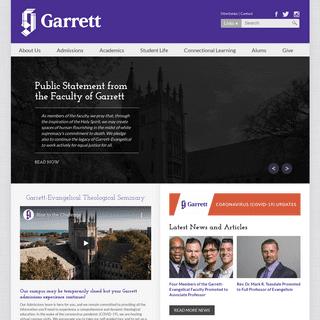 Garrett-Evangelical Theological Seminary - Garrett-Evangelical Theological Seminary