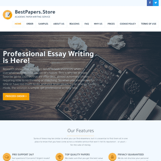 The Best Essay Writing Service is Here!