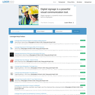 LOKER INDO - Situs Lowongan Kerja