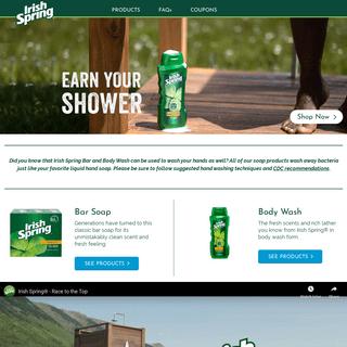 Irish Spring® Body Wash & Bar Soap